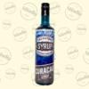 Kép 2/2 - Salvatore Syrup blue curacao ízű szirup 0,7liter