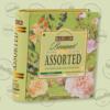 Kép 2/3 - Basilur Tea Book Bouquet filteres zöld tea válogatás (4 ízben) - fém díszdobozban