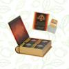 Kép 3/4 - Basilur Tea Specialty Assorted Book filteres zöld és fekete tea válogatás (4 ízben) - fém díszdobozban