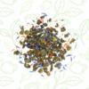 Kép 3/3 - Basilur Tea Love Story vol I 100g szálas zöld tea - fém díszdobozban
