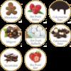Kép 2/2 - Chocco Perla forró csoki Vegyes ízösszetételű 32 db/doboz