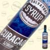 Kép 1/2 - Salvatore Syrup blue curacao ízű szirup 0,7liter