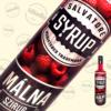 Kép 1/2 - Salvatore Syrup málna ízű szirup 0,7liter