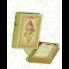 Kép 1/3 - Basilur Tea Love Story vol I 100g szálas zöld tea - fém díszdobozban
