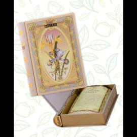 Basilur Tea Love Story vol II 100g szálas zöld és fekete tea - fém díszdobozban