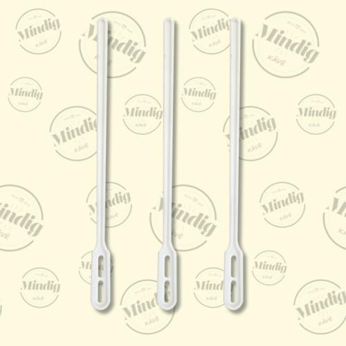 Keverpálcika 130mm műanyag fehér 1000 db/csomag (db ár)