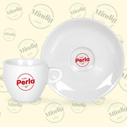 Espresso csésze+alj Caffé Perla