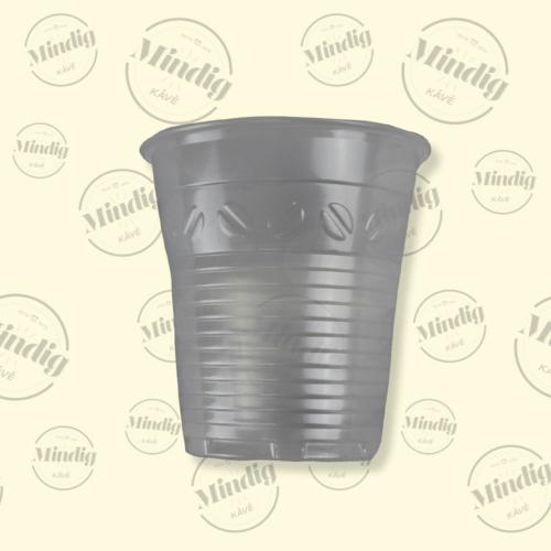 Műanyag pohár 160 ml kávészemes 100 db/csík (db ár)
