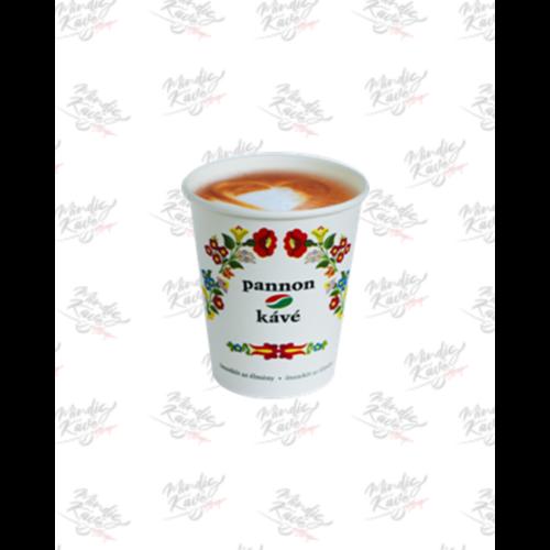Papír pohár 280 ml Kalocsai mintás 50db/csík (db ár)