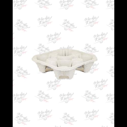 Papír pohár tartó tálca 4 részes 220 db/doboz (db ár)