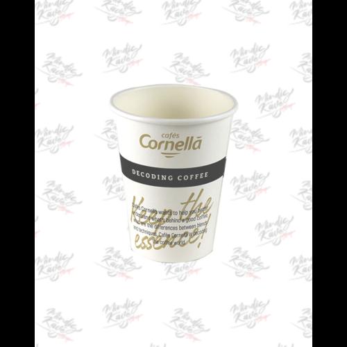 Papír pohár 350 ml Cafés Cornellá 50db/csík (csík ár)