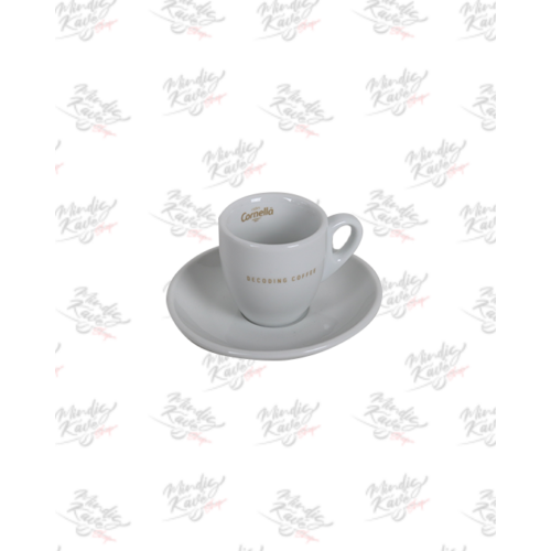 Espresso csésze+alj Cafés Cornellá Decoding Coffee
