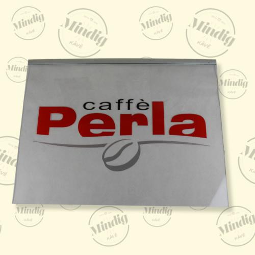 Caffé Perla függeszthető élvilágító tábla beltéri