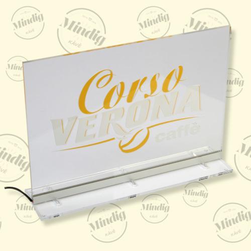 Corso Verona asztali álló élvilágító tábla beltéri