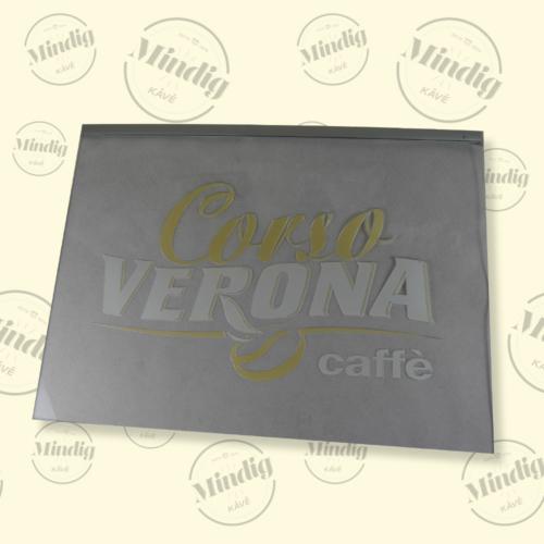 Corso Verona függeszthető élvilágító tábla beltéri
