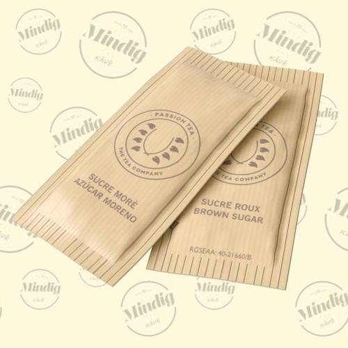 Passion Tea barna bio cukor rúd 1000 db/doboz