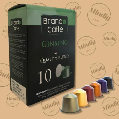 Ginseng ízesítűsű kávé Nespresso Kapszula 10db/doboz