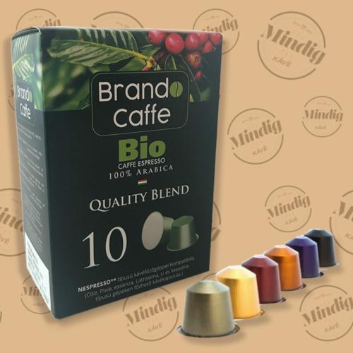 Bio 100% arabica Nespresso Kapszula 10db/doboz