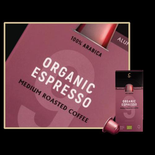 Cafés Cornella Organic Nespresso kompatibilis kapszula 10db/doboz