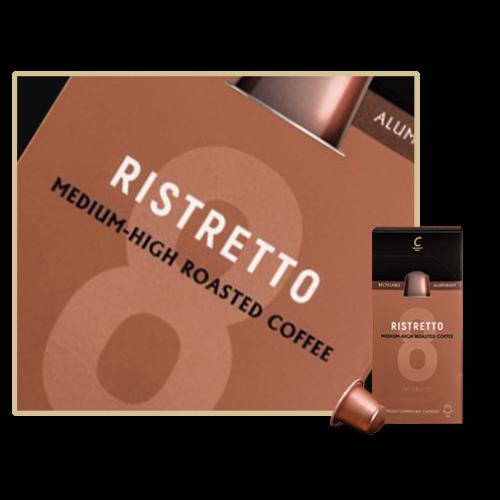 Cafés Cornella Ristretto Nespresso kompatibilis kapszula 10db/doboz