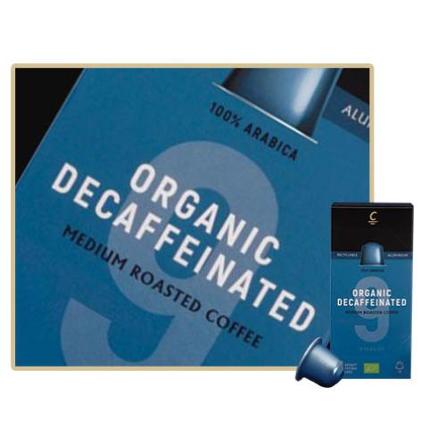 Cafés Cornella Organic Decaf Koffeinmentes Nespresso Kapszula 10db/doboz