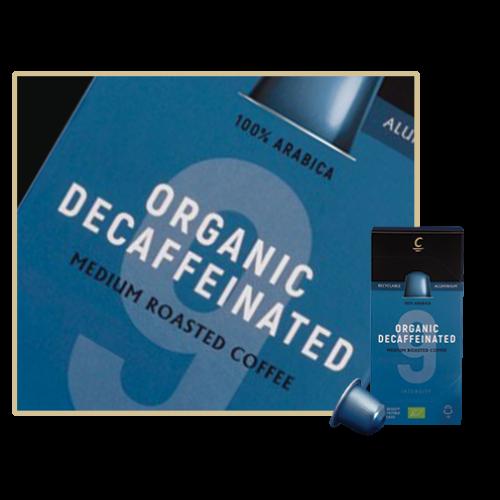 Cafés Cornella Organic Decaf Koffeinmentes Nespresso kompatibilis kapszula 10db/doboz