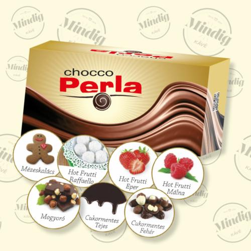 Chocco Perla forró csoki Vegyes ízösszetételű 32 db/doboz