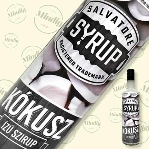 Salvatore Syrup kókusz ízű szirup 0,7liter
