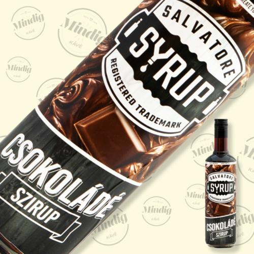 Salvatore Syrup étcsokoládé ízű szirup 0,7liter