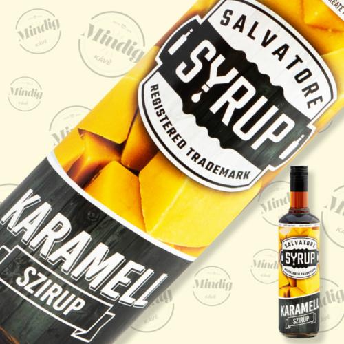 Salvatore Syrup karamell ízű szirup 0,7liter
