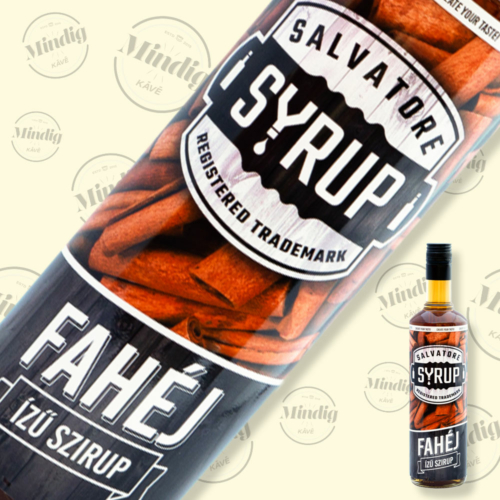 Salvatore Syrup fahéj ízű szirup 0,7liter