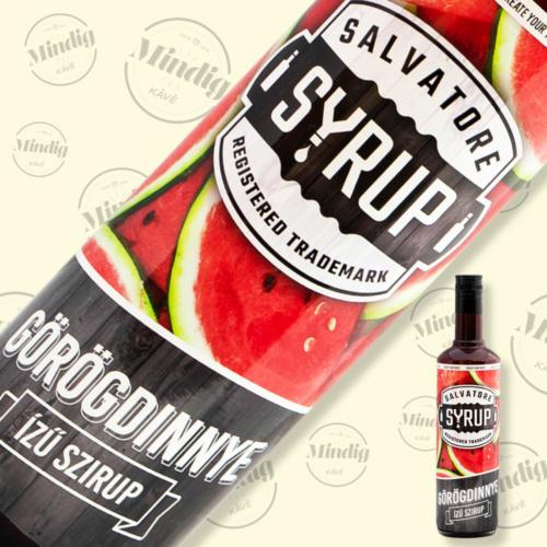 Salvatore Syrup görögdinnye ízű szirup 0,7liter