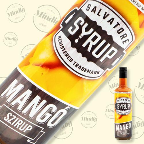 Salvatore Syrup mangó ízű szirup 0,7liter