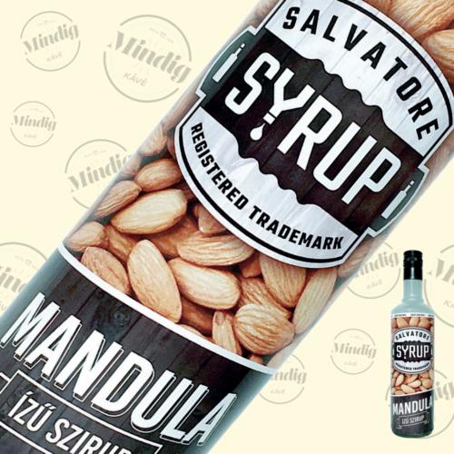 Salvatore Syrup mandula ízű szirup 0,7liter