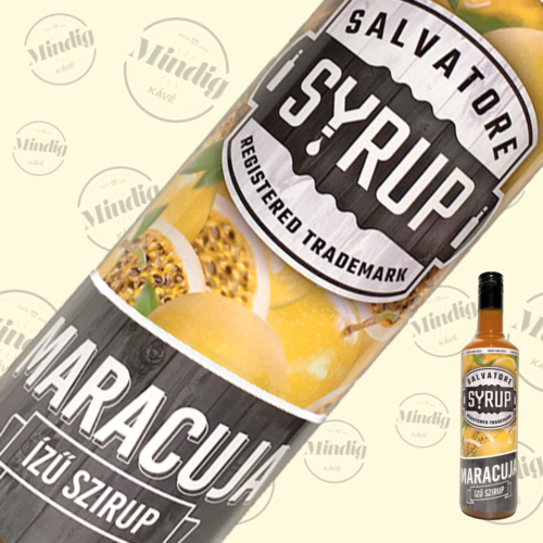 Salvatore Syrup maracuja ízű szirup 0,7liter