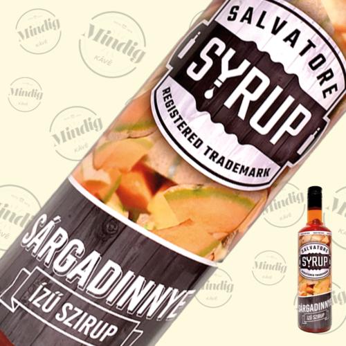 Salvatore Syrup sárgadinnye ízű szirup 0,7liter