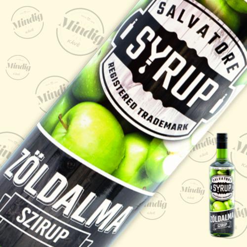 Salvatore Syrup zöldalma ízű szirup 0,7liter