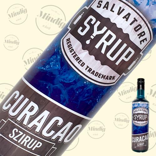 Salvatore Syrup blue curacao ízű szirup 0,7liter