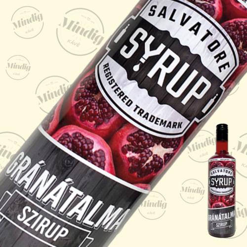 Salvatore Syrup gránátalma ízű szirup 0,7liter