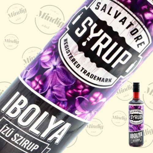 Salvatore Syrup ibolya ízű szirup 0,7liter