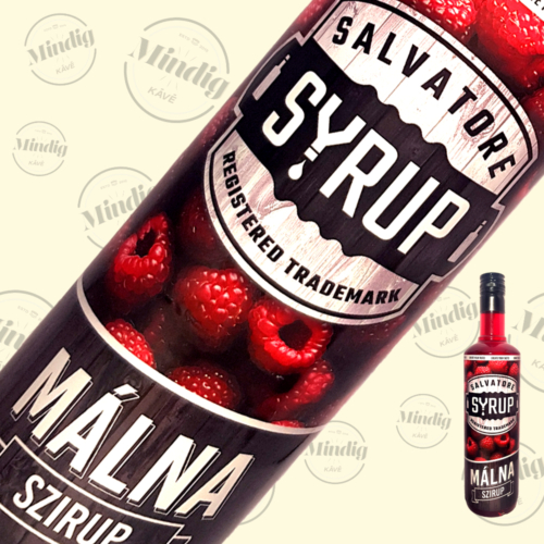 Salvatore Syrup málna ízű szirup 0,7liter
