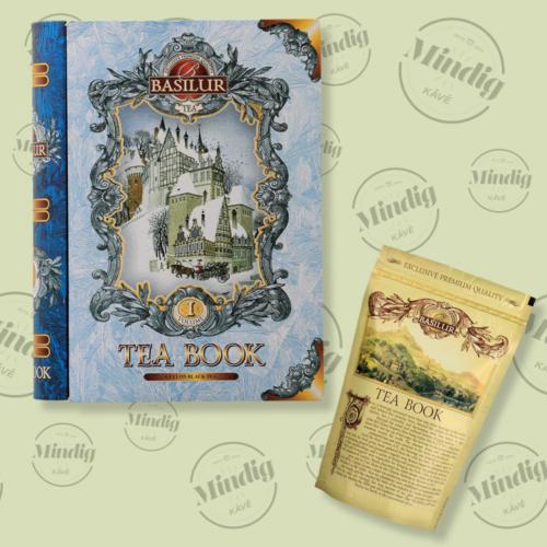 Basilur Tea Book vol I 100g szálas fekete tea - fém díszdobozban