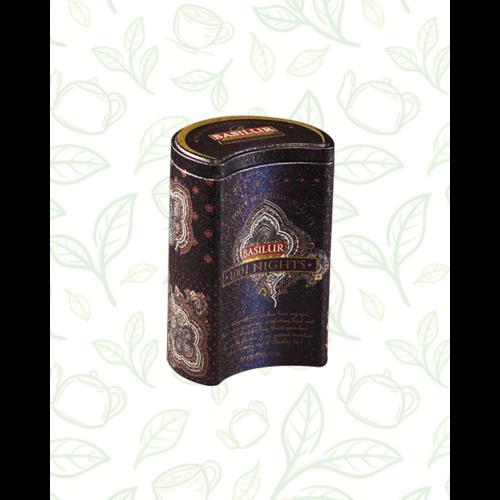 Basilur Tea Magic Night 100g szálas fekete tea - fém díszdobozban