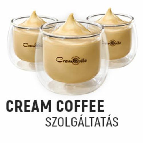 Cream Coffee szolgáltatás