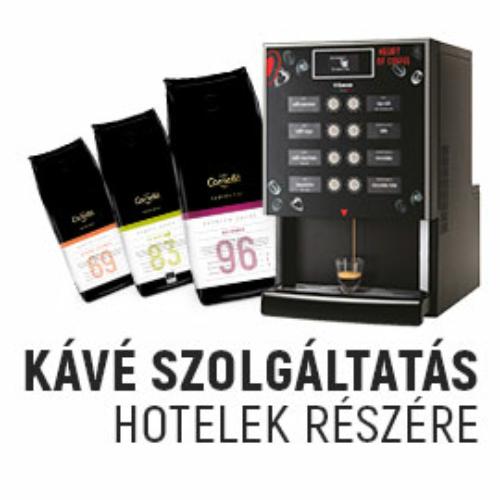 Kávészolgáltatás Hotelek részére