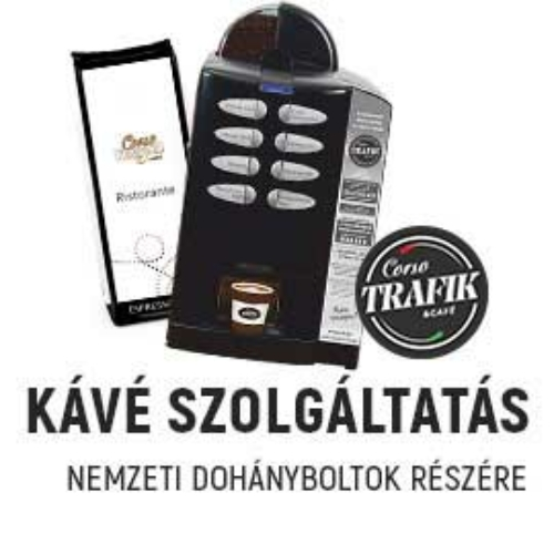 Kávészolgáltatás nemzeti dohányboltok részére